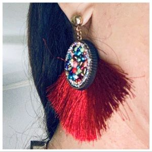 Chic fringe Ethnic Earrings